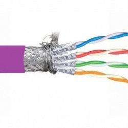CAT6A 4 PAIR S/FTP CABLE, SHIELDED