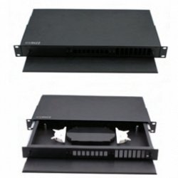 OPTICAL FIBRE PATCH PANEL, SLIDING TYPE