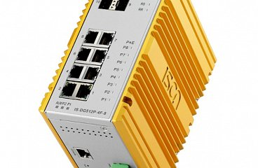 DIN-Rail Mount PoE Ethernet Switches