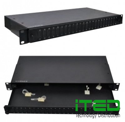 OPTICAL FIBRE PATCH PANEL, RACK MOUNT