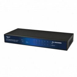 ALLNET ALL-SG8208PD / unmanaged 8 Port Giga Switch, 4x PoE